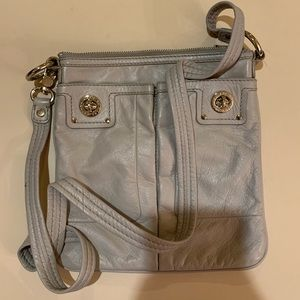 Marc By Marc Jacobs Taupe Leather Crossbody Bag